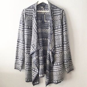 NWT Lucky Open Front Waterfall Cardigan Sweater ▪️